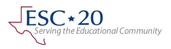 ESC 20 Serving the Educational Community