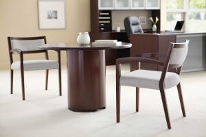 Small Round Table with Chairs