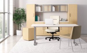 Coordinate height adjustable base 10500 Private Office