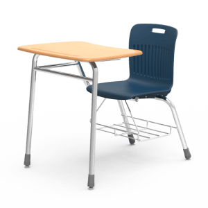 Kids Desk with Blue Chair
