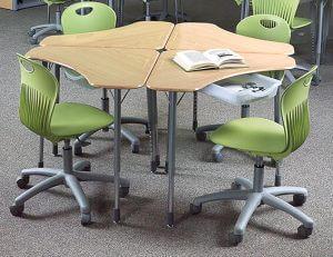 Collaborative Zboom Kids Desk
